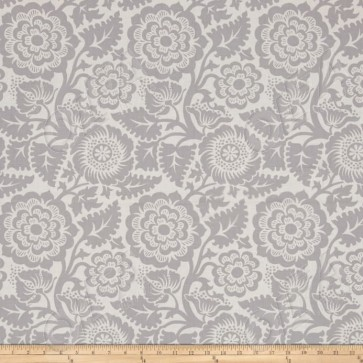 Ткань 45х55 см - Free Spirit - Модерн - Цветы - Серый