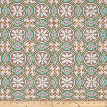 Ткань 45х55 см - Free Spirit - Модерн - Мозаика - Серый