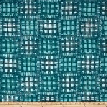 Ткань 45х55 см - Free Spirit - Модерн - Виньетка - Голубой