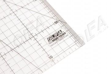 Линейка метрическая Olfa MQR-15x60
