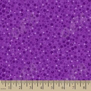 Ткань 45х55 см - Patrick Lose - Пузырики - Ягодный