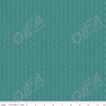 Ткань 45х55 см - Riley Blake - Симметрия - Зеленые пересечения