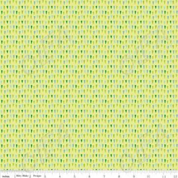 Ткань 45х55 см - Riley Blake - Совиное пятнышко - Зеленый