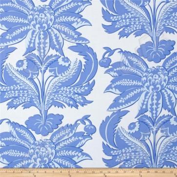 Ткань 45х55 см - Rowan - Парча - Синяя