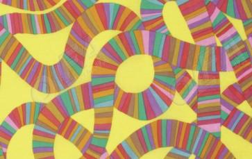 Ткань 45х55 см - Rowan - Горки - Желтые