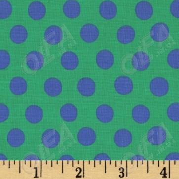 Ткань 45х55 см - Rowan - Точки - Зеленый