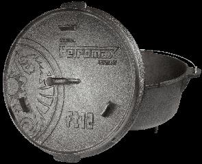 Казан Petromax 11,4л с крышкой-сковородой 3,3л [под заказ]