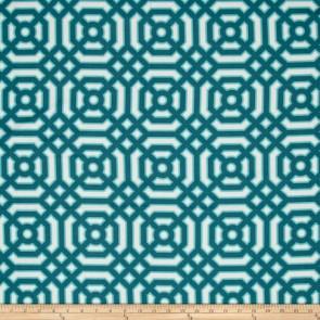 Ткань 45х55 см - Free Spirit - Модерн - Геометрия - Зеленый