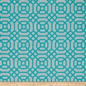 Ткань 45х55 см - Free Spirit - Модерн - Геометрия - Бирюзовый