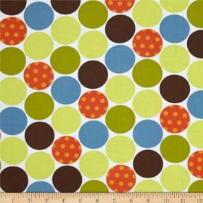 Ткань 45х55 см - Moda - Счастливое сияние - Веселые небесные точки