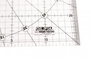 Линейка метрическая Olfa MQR-15x30