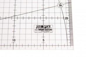 Линейка метрическая Olfa MQR-30x30