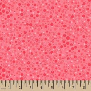 Ткань 45х55 см - Patrick Lose - Пузырики - Розовый - Лимонад
