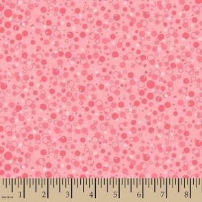 Ткань 45х55 см - Patrick Lose - Пузырики - Розовый - Пунш