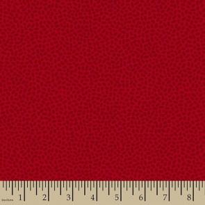 Ткань 45х55 см - Patrick Lose - Пятнышки - Клюква