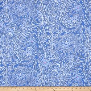 Ткань 45х55 см - Rowan - Папоротник - Барвинок