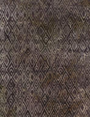 Ткань 45х55 см - Timeless Treasures - Мини икат - Пепел