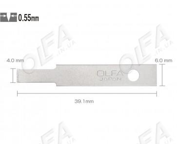 Леза Olfa KB4-NF/5