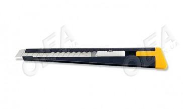 Сегментний ніж 9 мм Olfa 180 black