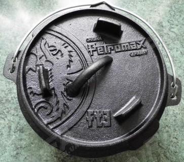 Казан Petromax 1,8 л з кришкою-сковородою 0,5 л [під замовлення]