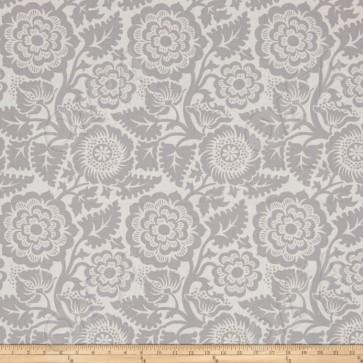 Тканина 45х55 см - Free Spirit - Модерн - Квіти - Сірий