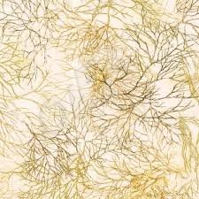 Ткань 45х55 см - Robert Kaufman - Оттенки сезона - Веточки - Осень