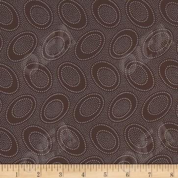 Ткань 45х55 см - Rowan - Первобытная точка - Шоколад