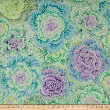 Ткань 45х55 см - Rowan - Цветочный плен - Зеленый