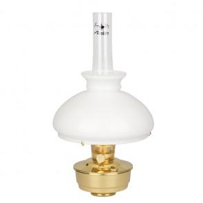 Лампа ALADDIN латунь полірована з абажуром [під замовлення]