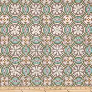 Тканина 45х55 см - Free Spirit - Модерн - Мозаїка - Сірий