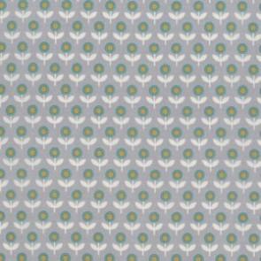 Тканина 45х55 см - Free Spirit - Модерн - Тюльпани - Сірий