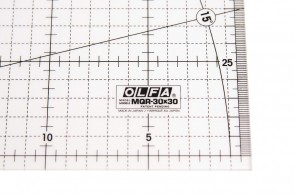 Лінійка метрична Olfa MQR-30x30