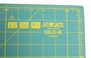 Килимок товщиною 1,6 мм Olfa RM-IC-M