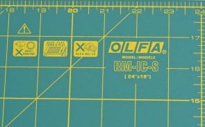 Килимок товщиною 1,6 мм Olfa RM-IC-S
