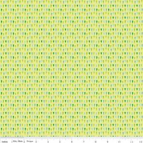 Тканина 45х55 см - Riley Blake - Совина плямочка - зелений