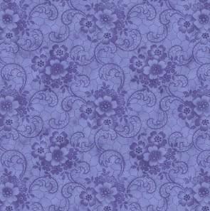 Ткань 45х55 см - RJR Fashion Fabrics - Шантильи - Фиалка