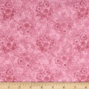 Ткань 45х55 см - RJR Fashion Fabrics - Роза в пыли