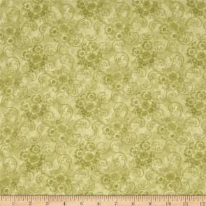 Ткань 45х55 см - RJR Fashion Fabrics - Шантильи - Шалфей