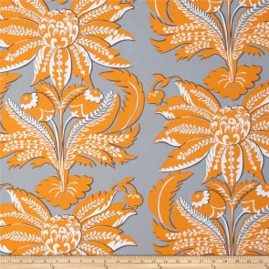 Ткань 45х55 см - Rowan - Парча - Серая