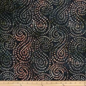 Ткань 45х55 см - Timeless Treasures - Батик - Малахитовая мозаика