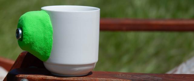 Чашка сувенирная - зацепка для скалодрома